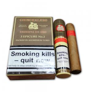 Chinchalero Reserva Epicure No. 2 – Tubed Cigar - Pack of 3