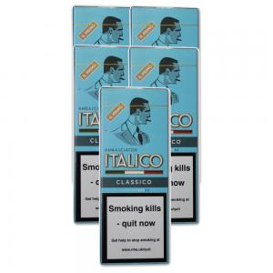Italico Classico Natural Cigars - 5 Packs of 4 (20)