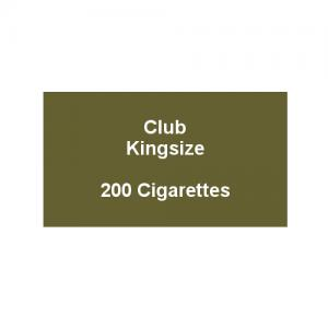 Club Kingsize Cigarettes - 10 Pack of 20 Cigarettes (200)