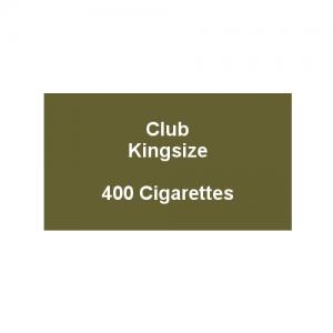 Club Kingsize Cigarettes - 20 Pack of 20 Cigarettes (400)