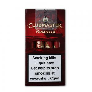 Clubmaster Tubed Panatella Cigar -  Pack of 4