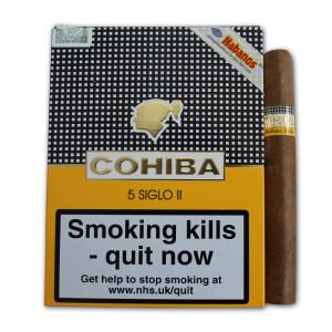 Cohiba Siglo II Cigar - Pack of 5
