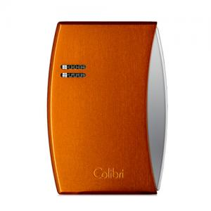 Colibri Eclipse – Single Jet Lighter - Anodized Mars Orange