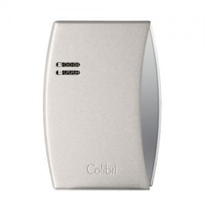 Colibri Eclipse – Single Jet Lighter - Moon Metallic White