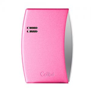 Colibri Eclipse – Single Jet Lighter - Matte Metallic Pink