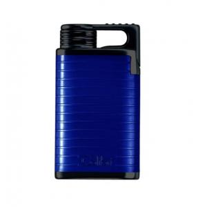 Colibri Belmont (Wind Proof) Single Jet Flame Lighter – Blue/Black