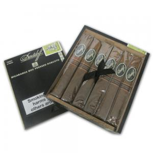 Davidoff - Nicaraguan Experience - Robusto Box Pressed Cigar - Pack of 4