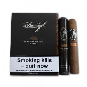 Davidoff - Nicaraguan Experience - Robusto Tubed Cigar - Pack of 4