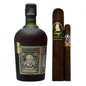 Intro to Pairing - Rich & Spicy - Diplomatico Rum 5cl + Cigars