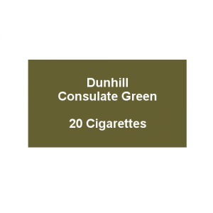 Dunhill Consulate Green King Size -  1 pack of 20 cigarettes (20)