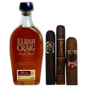 Elijah Craig Kentucky Straight Bourbon & New World Pairing Sampler