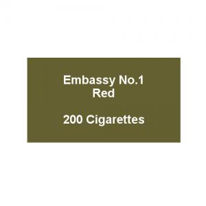 Embassy No. 1 Red - 10 packs of 20 cigarettes (200)