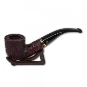 Peterson Emerald Rustic Bent Fishtail Pipe - 01 (G1209)
