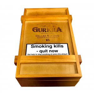 Empty Ghurka Celler Reserve Double Robusto Box