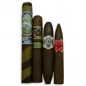 Exclusive New World Selection Sampler - 4 Cigars