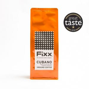 Fixx Coffee - Cubano Ground Coffee - 250g