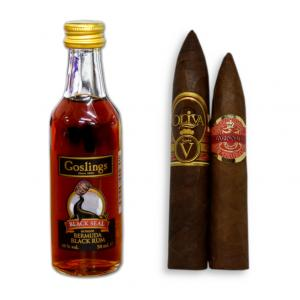 Gosling Black Seal Rum and Piramide Cigar Pairing
