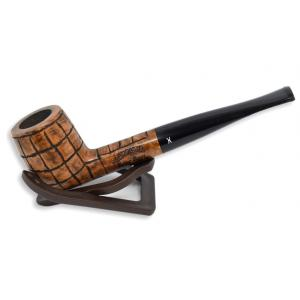 Hardcastle Briar Root 102 Checkerboard Fishtail Straight Pipe (H0023)