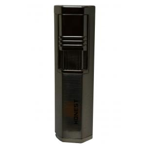 Honest Hutton Cigar Gunmetal Lighter (HON46)