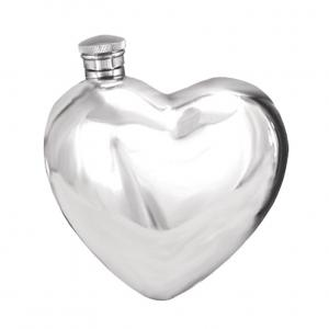 6oz Pewter Hip Flask - HR005