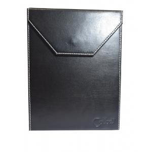 Colibri Black Leather Travel Poker Humidor