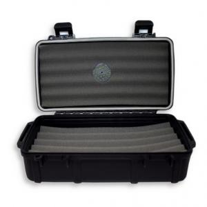 C.Gars Ltd Crushproof Travel Cigar Humidor Case X10 - 10 Cigar Capacity