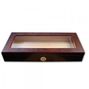 Angelo Glass Top Humidor - External Hygrometer
