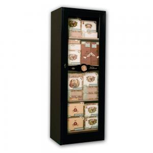 Imperial - Free Standing Showcase Humidor - Black Lacquer Finish