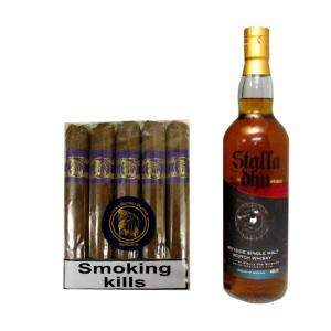 C.Gars Ltd Blue Sampler - 1 Cigar and Speyside 70cl