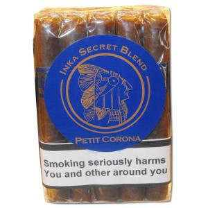 Inka Secret Blend - Blue Petit Corona Cigar - Bundle of 10