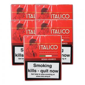 Italico Rosso Arabica Cigars - 5 Packs of 5 (25)