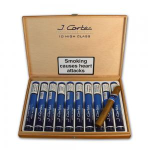 J. Cortes High Class Sumatran Cigar - Blue - Box of 10