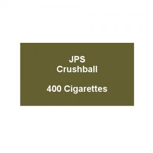 JPS Kingsize Crushball - 20 packs of 20 cigarettes (400)
