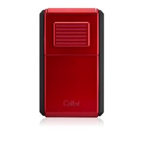 JANUARY SALE - Colibri Astoria Triple Jet Flame Lighter - Red and Black (End of Line)