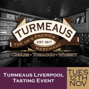 Turmeaus Liverpool Cigar and Whisky Tasting Event 12/11/19