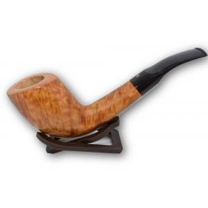 Lorenzetti Italy Smooth Light Brown Unique Semi Bent Pipe (LZ08)