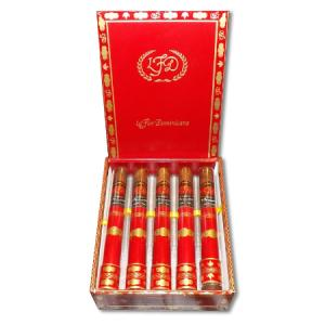 La Flor Dominicana - Double Ligero Crystal Corona Tubes Cigar - Box of 10
