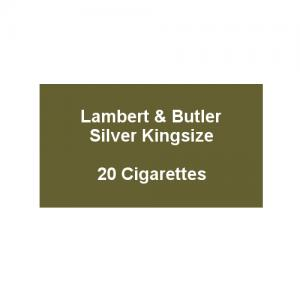Lambert & Butler Silver Kingsize - 1 Pack of 20 Cigarettes