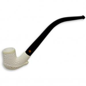Meerschaum Patterned Textured Pipe (MEER25)
