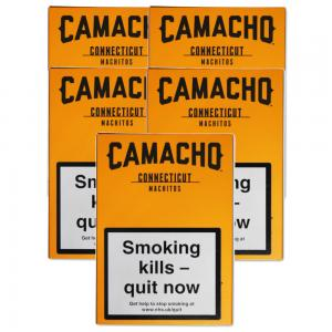 Camacho Connecticut Machitos Cigar - 5 Packs of 6 (30)