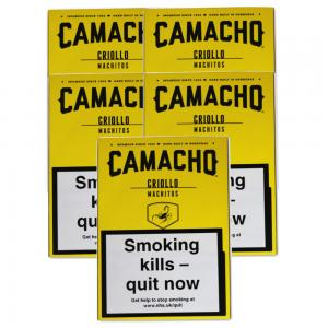 Camacho Criollo Machitos Cigar - 5 Packs of 6 (30)