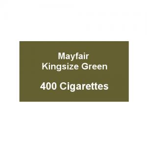 Mayfair Kingsize Green Cigarettes - 20 Packs of 20