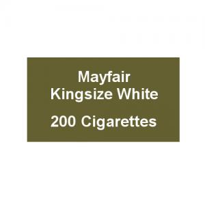Mayfair Kingsize White Cigarettes - 10 Packs of 20