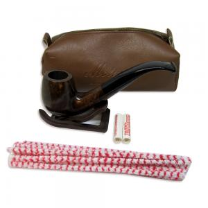 Molina Brown Bent Pipe with Case and Accessories