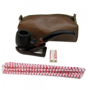 Molina Sandblast Bent Pipe with Case and Accessories