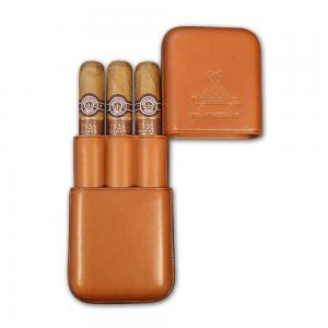 Christmas Gift - EMS Montecristo Linea 1935 Dumas Leather Pouch - 3 Cigars