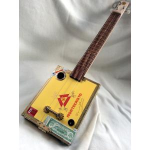 Handcrafted Montecristo Cigar Box Guitar