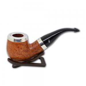 Peterson Silver Cap Silver Mounted Natural XL90 Fishtail Pipe (PE539)