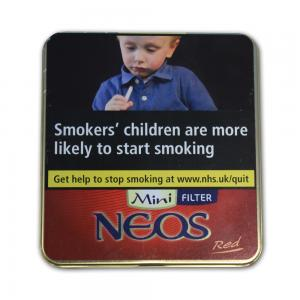 Neos Feelings Filter Red Mini (formerly Vanilla) - Tin of 10