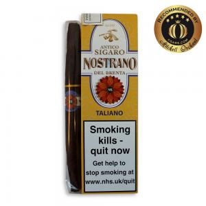 Nostrano del Brenta Sigaro Taliano Cigar - Pack of 3